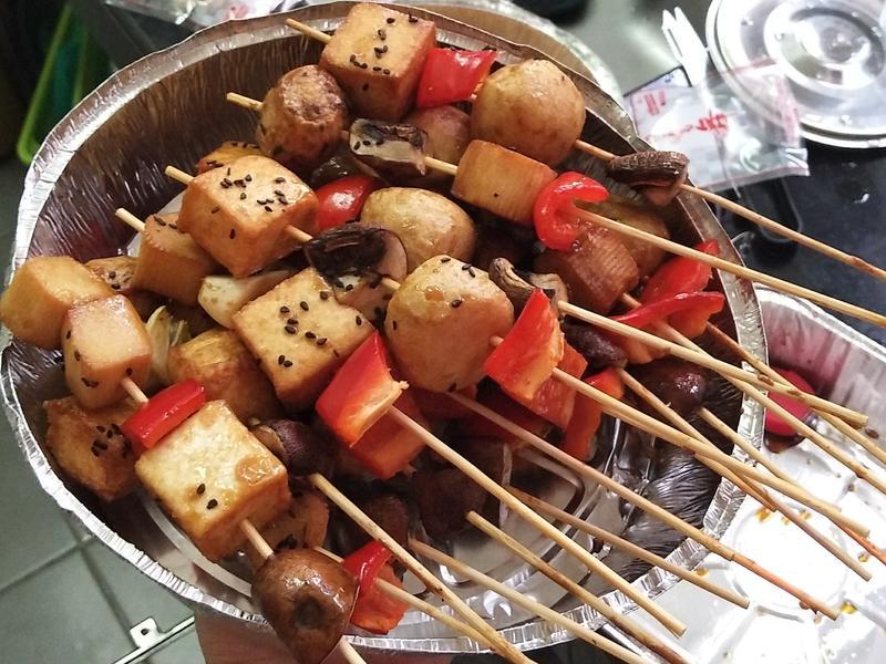 烤魚丸串(简单版)