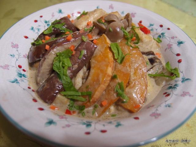 蔬食綠咖哩