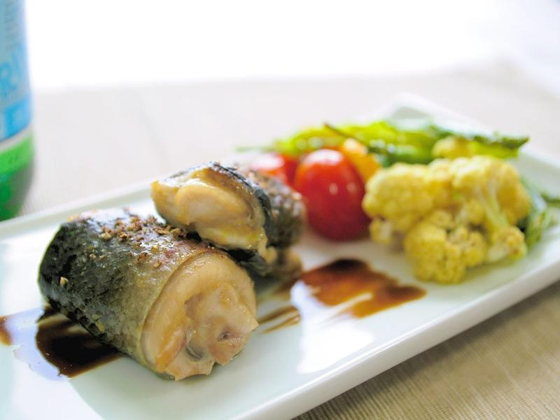 烤味噌虱目魚卷