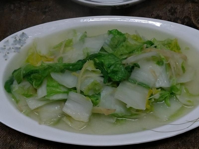 一人泡麵鍋系列~清炒大白菜