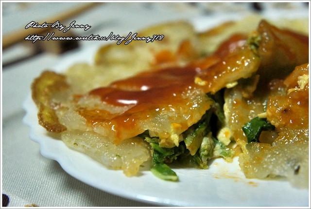 台灣小吃蝦仁煎