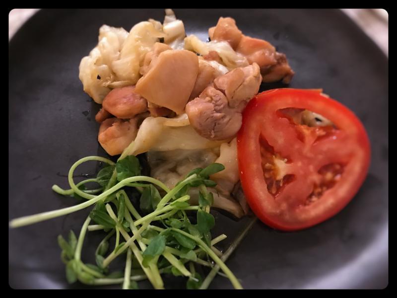 照燒高麗菜雞肉(露營OK)