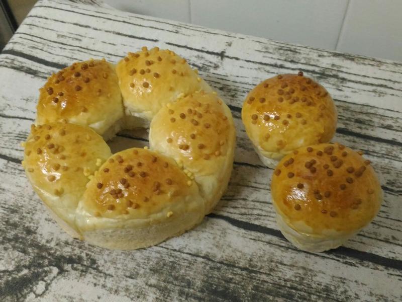 雪花手撕麵包