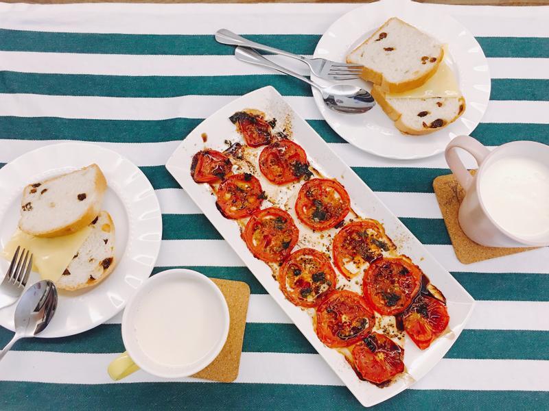 義式烤番茄