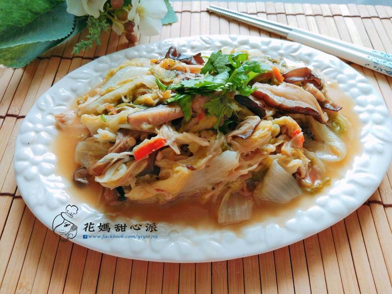 台式家常白菜滷