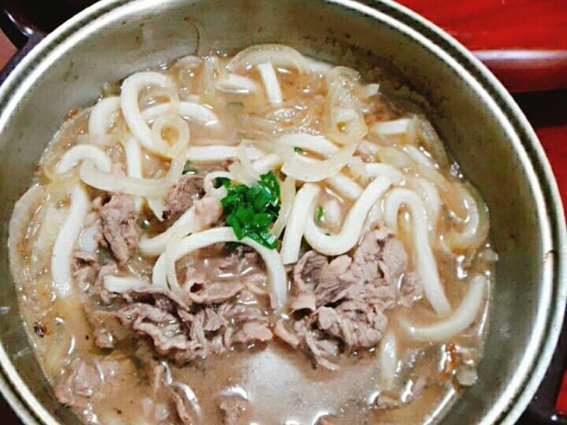 牛肉烏龍麵