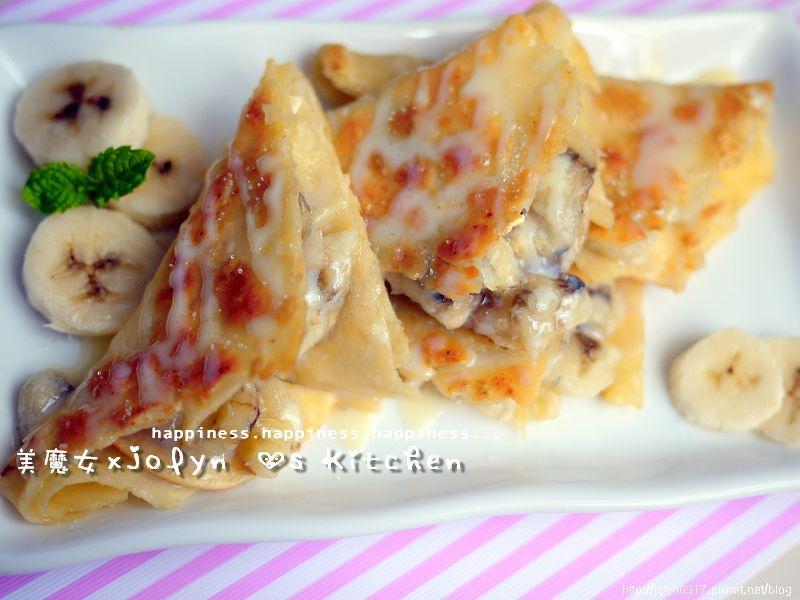 ♫【香蕉煎餅♥ROTI SAI KAI ♥】爆好吃><