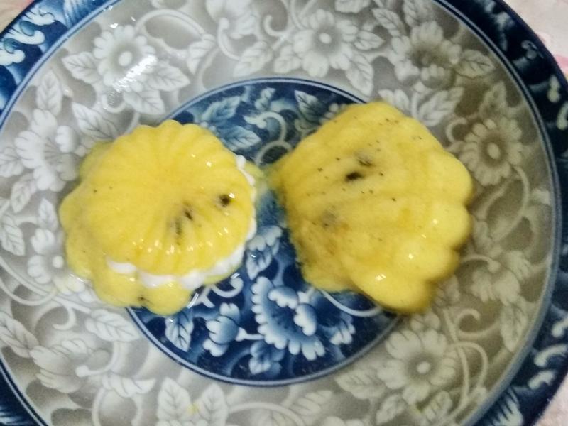 百香果果凍月餅