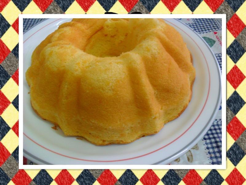 Y芬的小廚房--地瓜戚風蛋糕