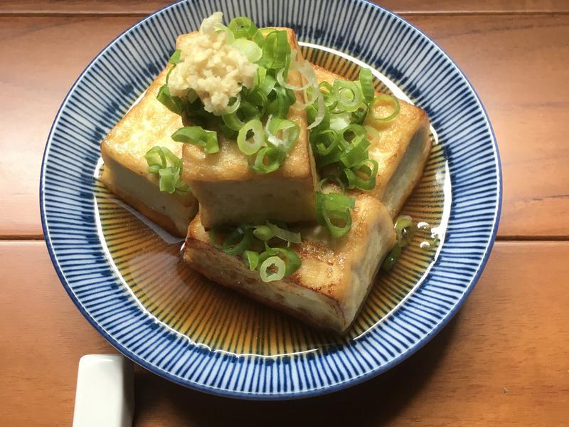 揚豆腐~用煎的較實在