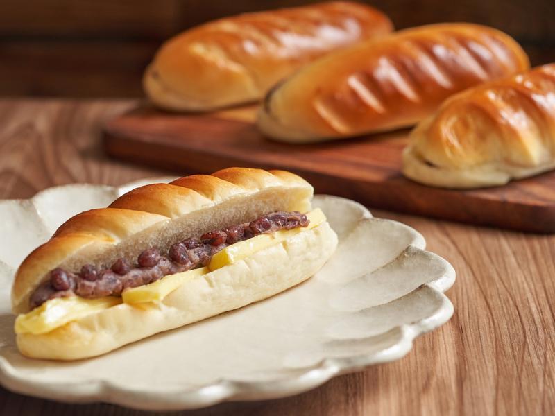 奶油紅豆麵包【麥典實作工坊麵包專用粉】