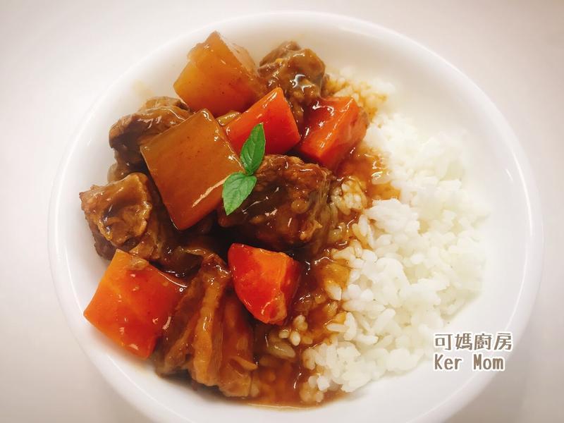 可媽廚房 附影音萃取鍋超簡單紅燒牛肉燴飯