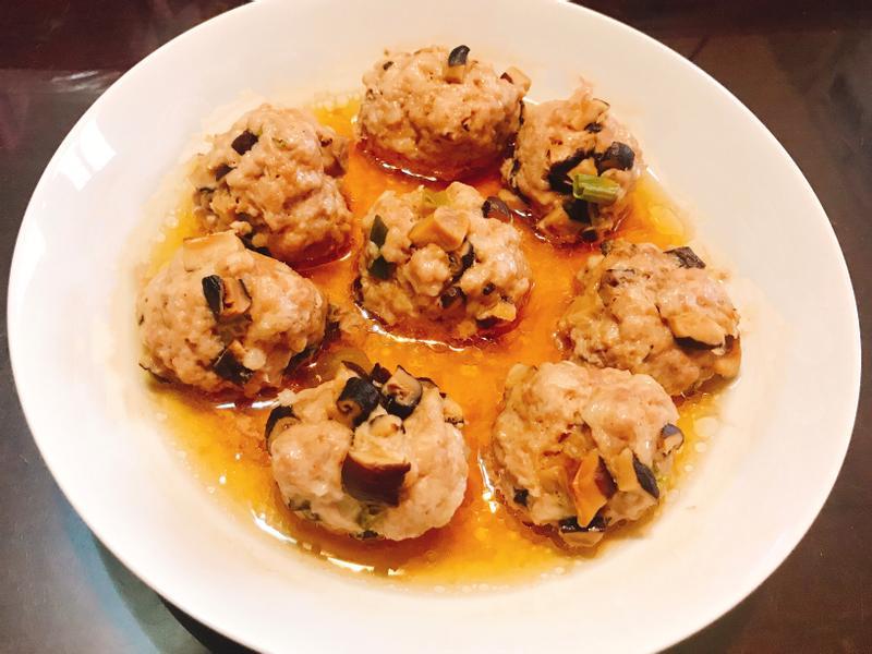 香菇肉丸子🍡(電鍋料理)