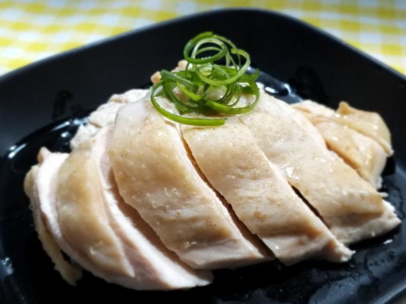兩步驟極簡白斬雞~雞胸肉低卡低脂減肥餐