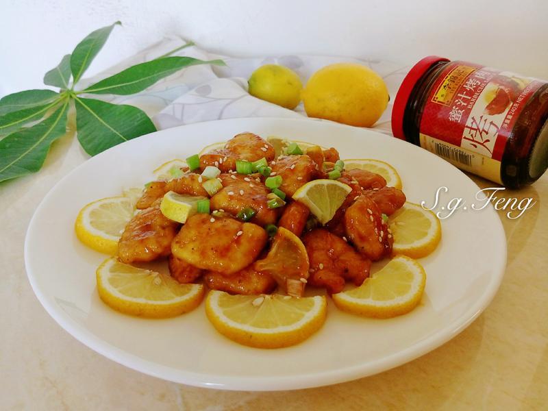 蜜汁檸檬雞肉