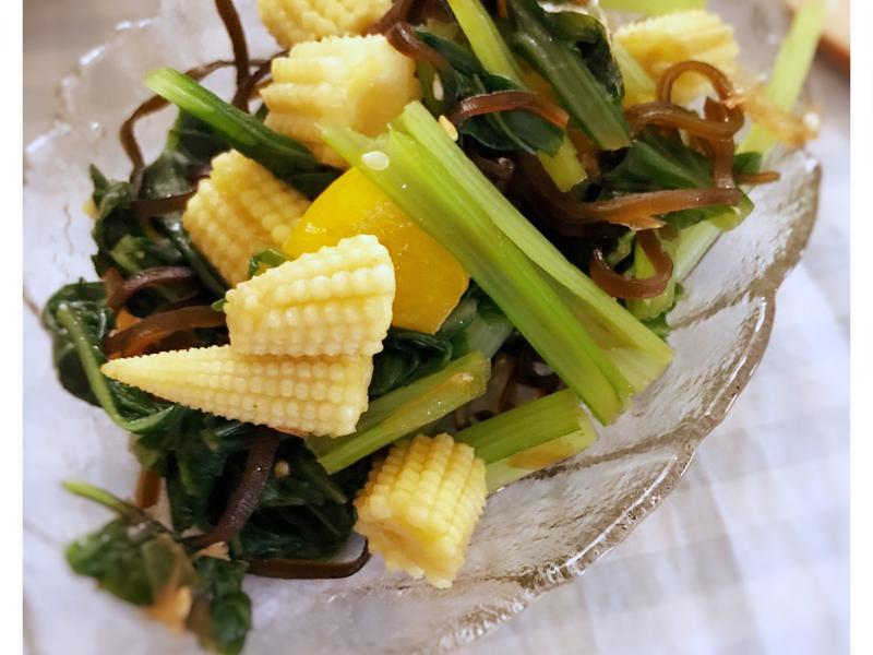 【日式副菜】和風溫沙拉(露營OK)