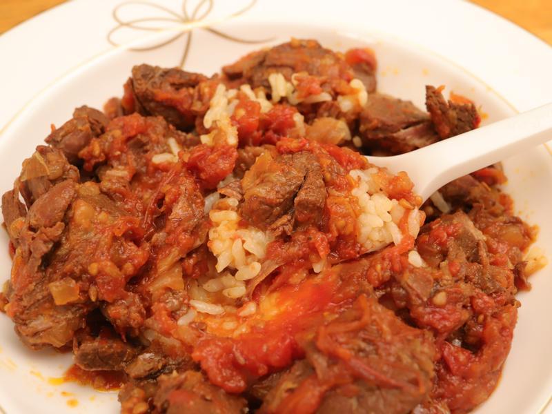 【番茄燉牛肉】湯麵、拌飯都可以