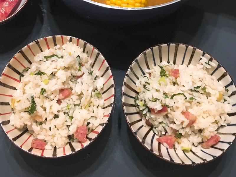 上海菜飯(萬用鍋)