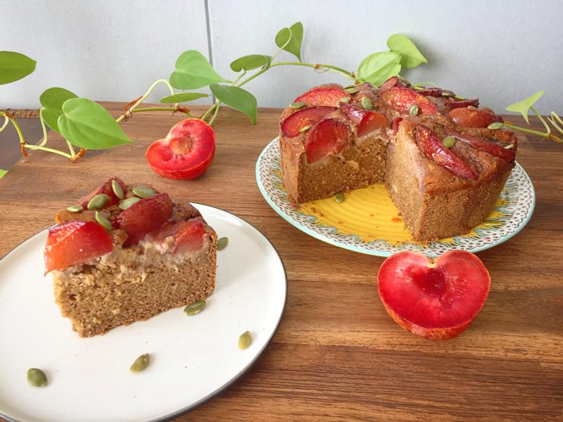 水果旦糕(無麵粉、無精製糖、健康美味)