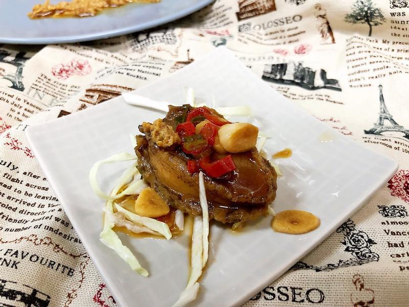 紅燒鮑魚(低溫熟成料理)