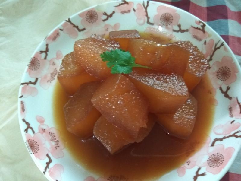 醬燒冬瓜滷(純素可食)