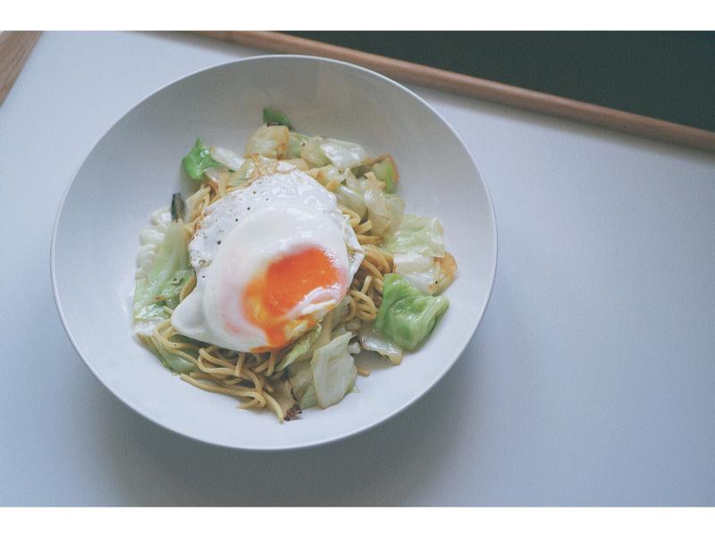 日式鹽味炒麵{鮮甜蔬菜成就好味道}