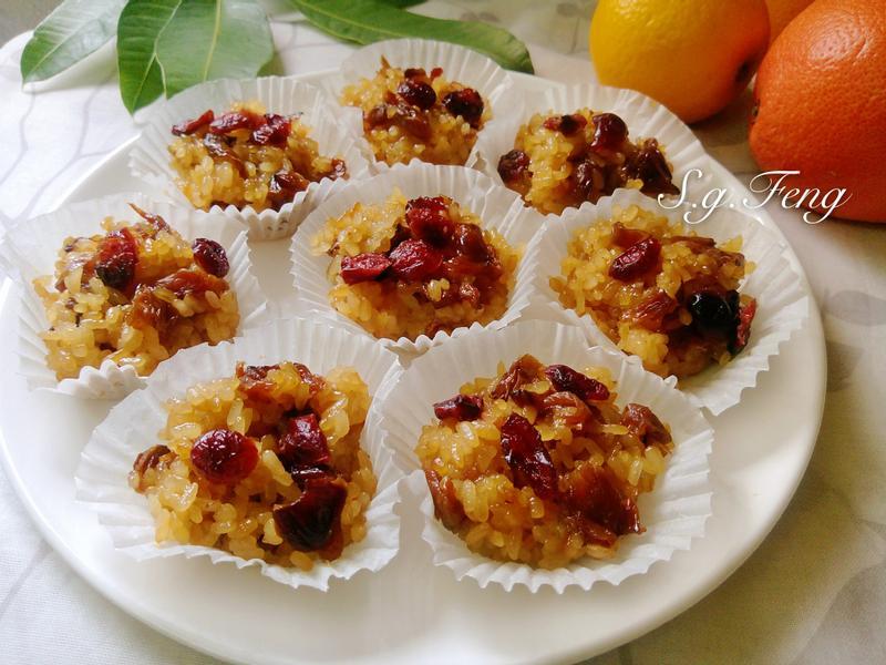 蔓越莓桂圓米糕(電鍋版)