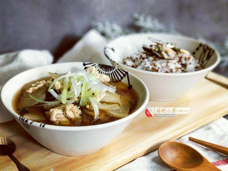 雞肉蘿蔔味噌湯