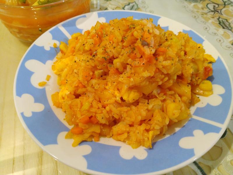 木鼈果炒飯(素食)