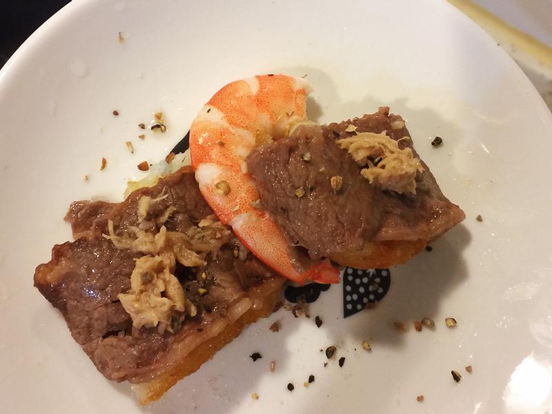 蝦之牛肉捲薯餅