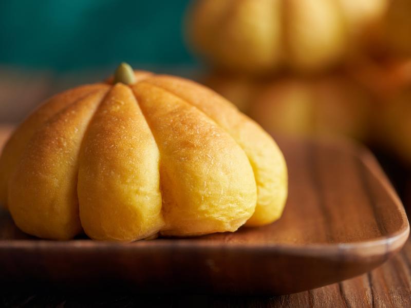 南瓜麵包【麥典實作工坊麵包專用粉】