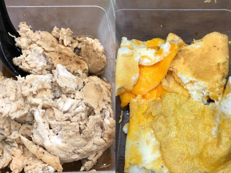 「全聯」減肥食譜/雞里肌肉/萵苣/蛋