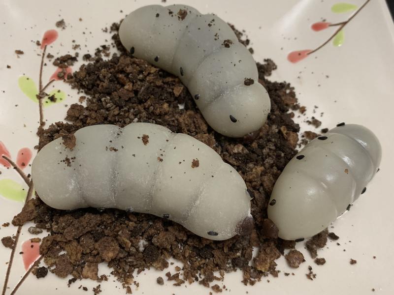 冰皮紅豆麻糬 #蟲蟲🐛版