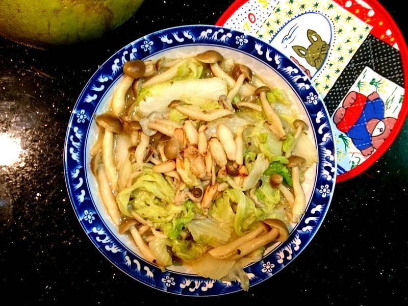 蟹肉燉白菜