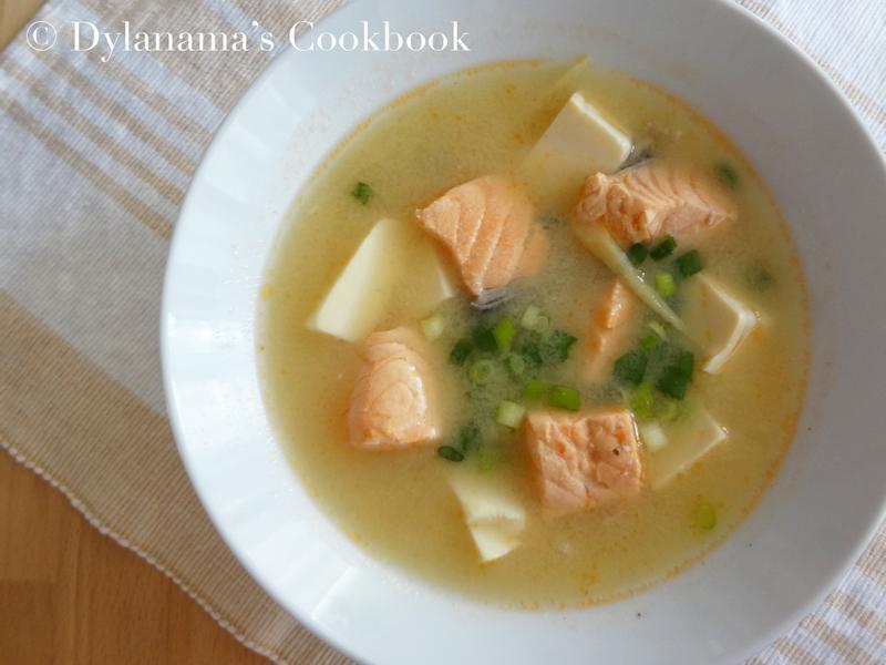DYLANAMA 鮭魚豆腐味噌湯