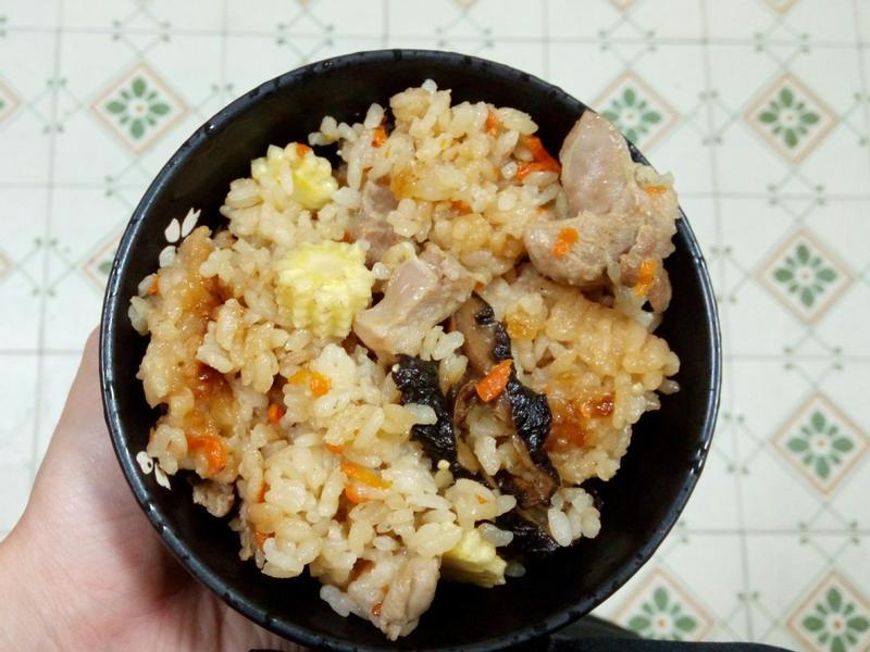 菇菇雞肉雜炊飯