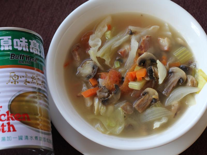 蕃茄蔬菜湯(牛頭牌原味高湯)