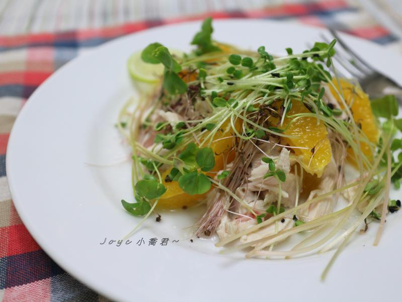 超鮮~豆苗雞肉沙拉