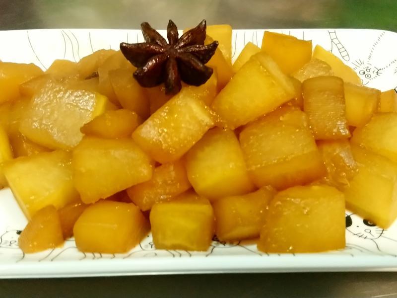 冬瓜滷蘿蔔
