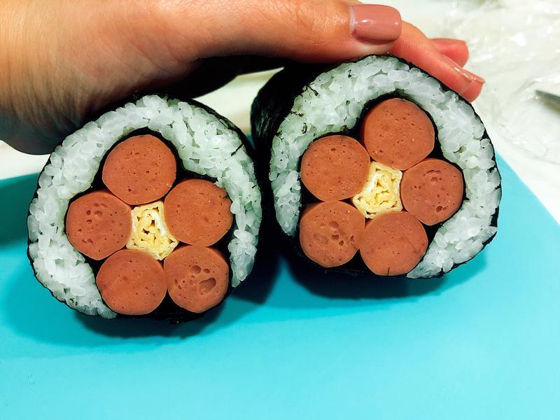 櫻花/梅花飯糰手捲壽司 野餐 便當