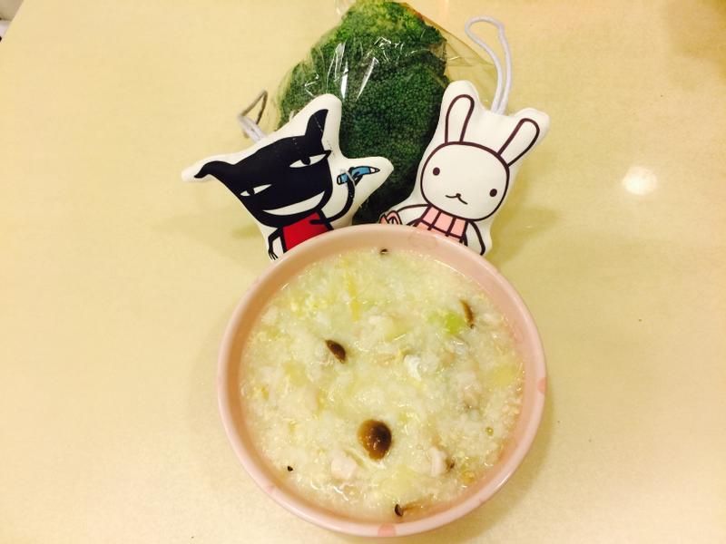 高湯蔬菜菇菇鮮魚粥