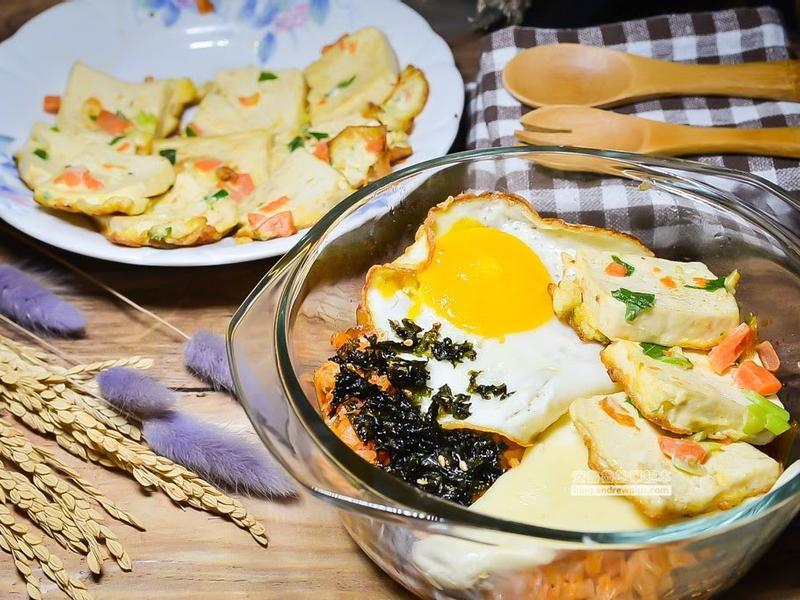 超簡單懶人韓式泡菜起司炒飯