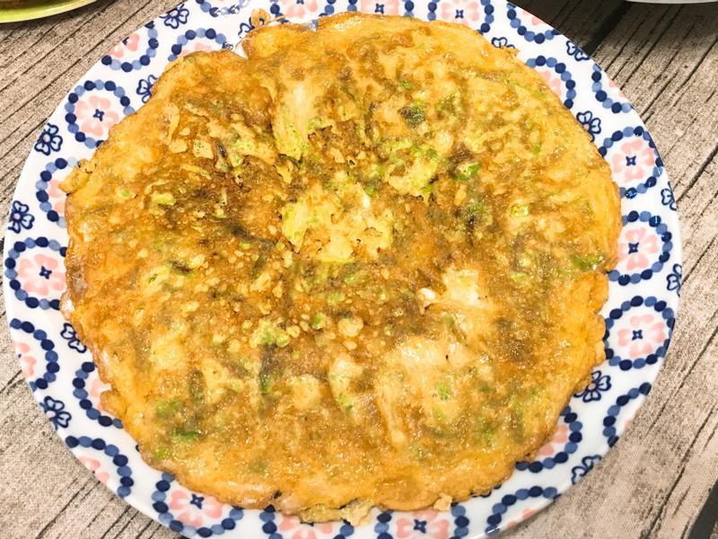 海菜煎蛋(烘蛋)