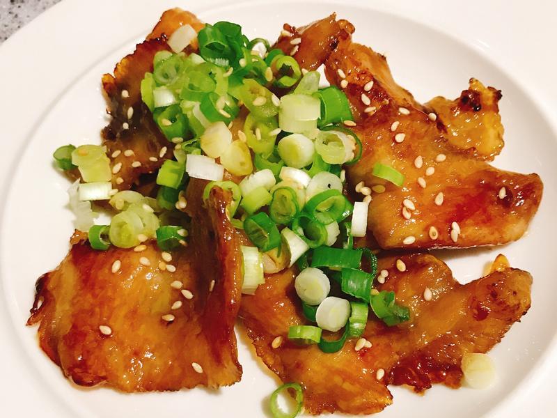 香煎松阪豬肉片