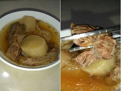 白玉蘿蔔清燉牛肉湯~~快鍋版~~