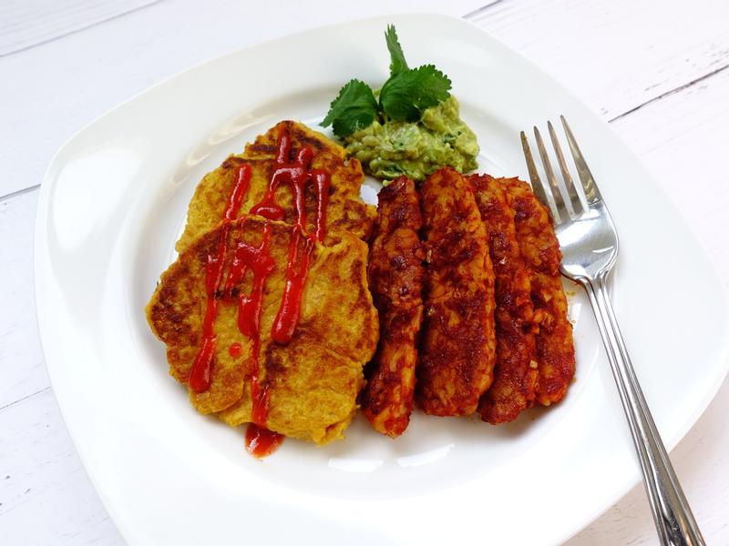 【vegan早餐】地瓜鬆餅 無麵粉