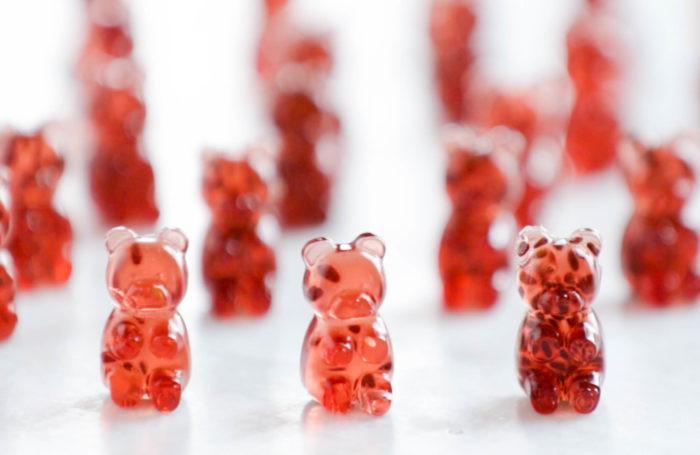 酸櫻桃小熊軟糖