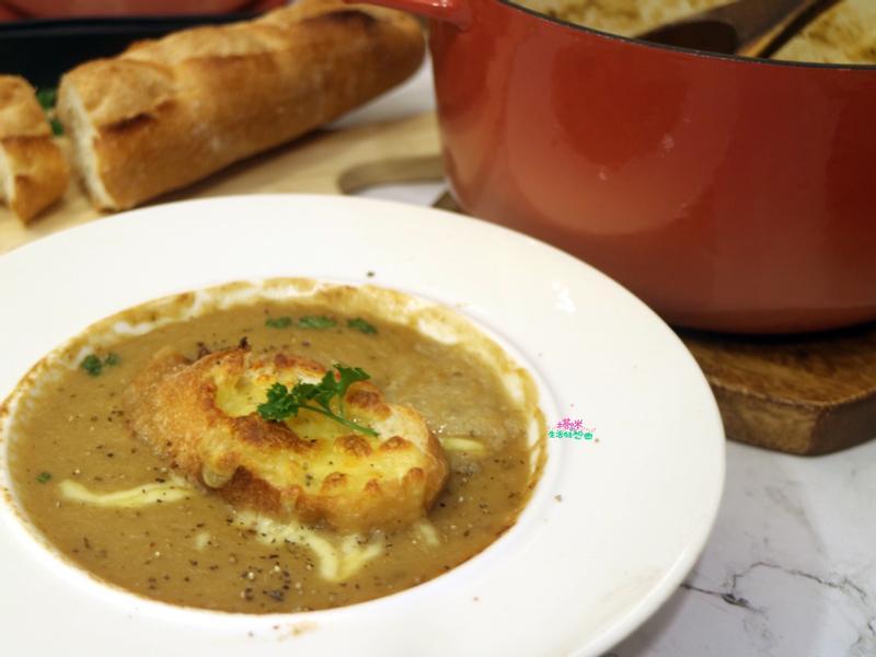 法式洋蔥濃湯【一鍋煮】