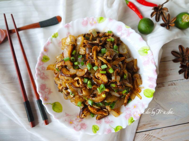 洋蔥炒菇【好菇道營養料理】