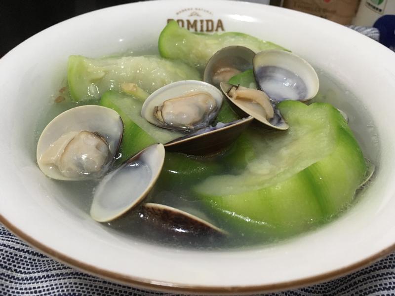 翡翠絲瓜蛤蜊湯